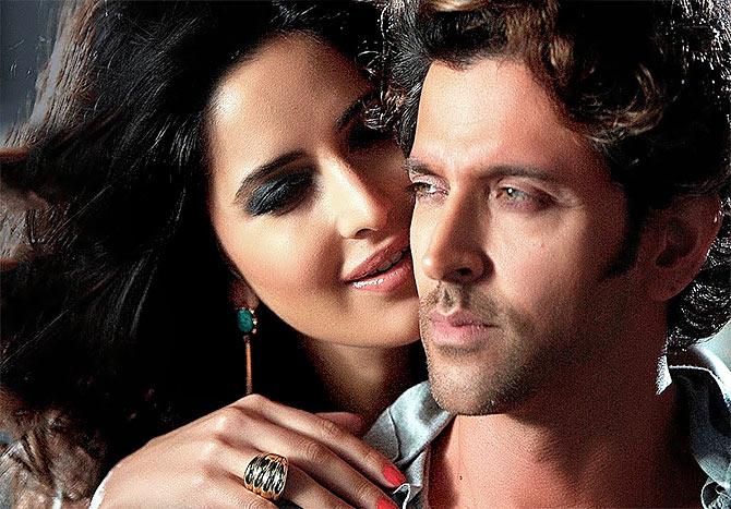 Hrithik and Katrina Kaif in Bang Bang.