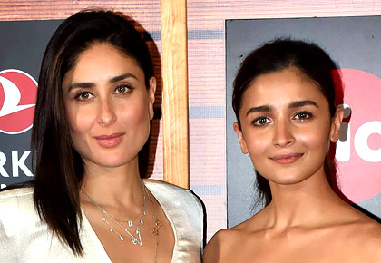 Kareena, Alia step out together