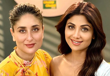 What secret is Shilpa revealing to Kareena?