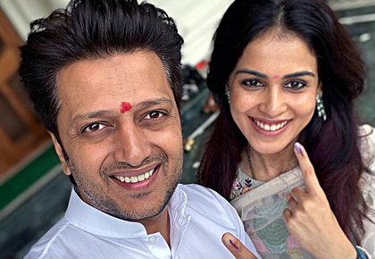PIX: Bollywood votes!