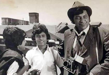 When Amjad Khan played a photographer