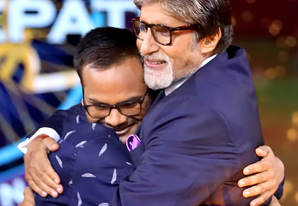 'I was nobody until I appeared on KBC'