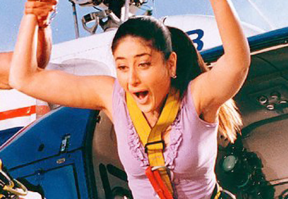 When Kareena went BUNGEE JUMPING