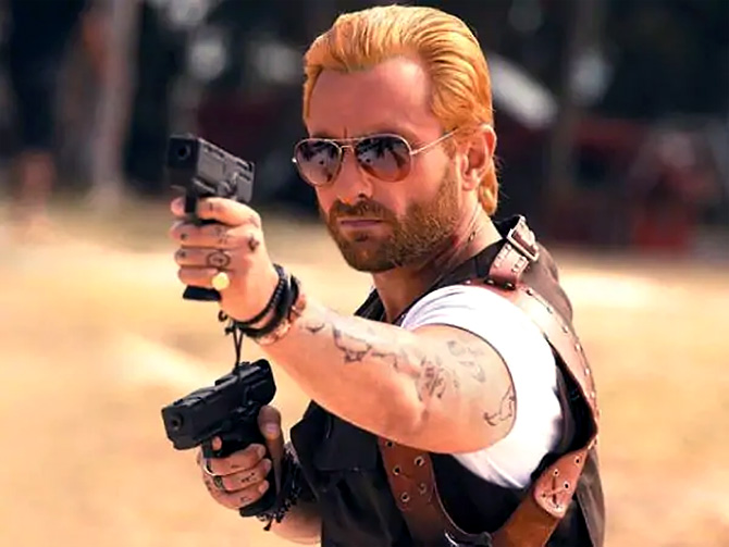 Saif Ali Khan in Go Goa Gone.