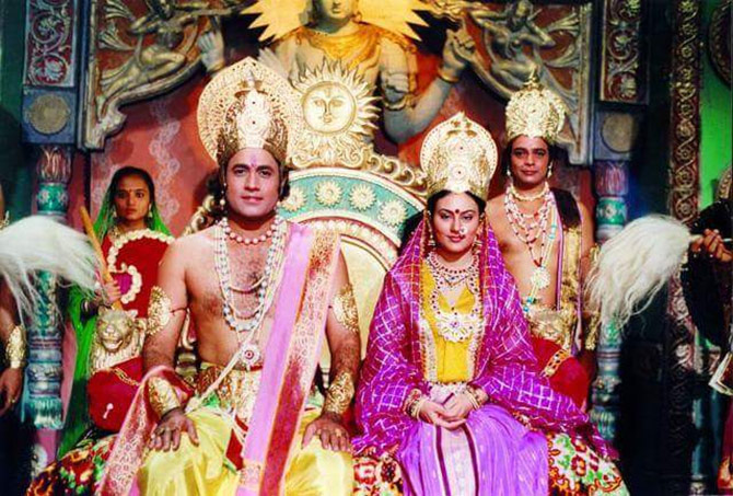 `We should get royalty for Ramayan`