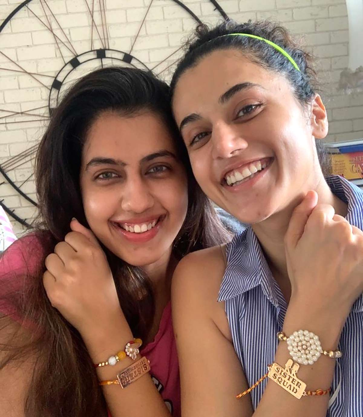 Why are Kriti, Taapsee wearing rakhis?