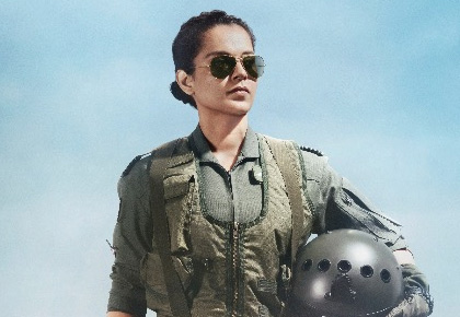 Kangana gets ready to touch the skies with her next