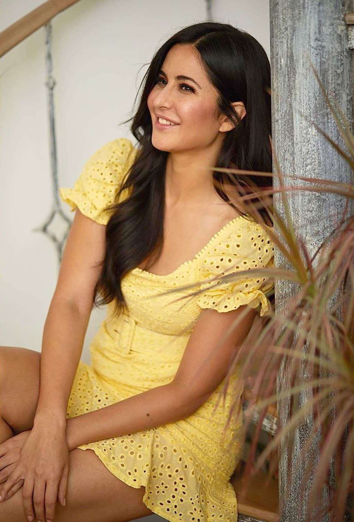 Why is Katrina Kaif happy? - Rediff.com movies