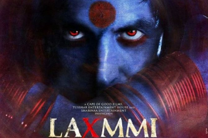 The Laxmii Poster