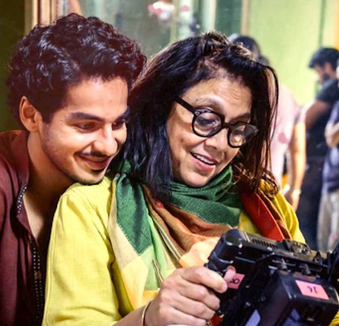 Ishan Khatter with his Miradi. Photograph: Kind courtesy Ishaan Khatter/Instagram