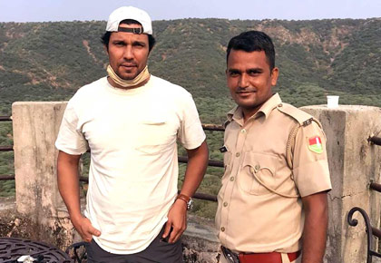Spotted: Randeep Hooda in Jaipur