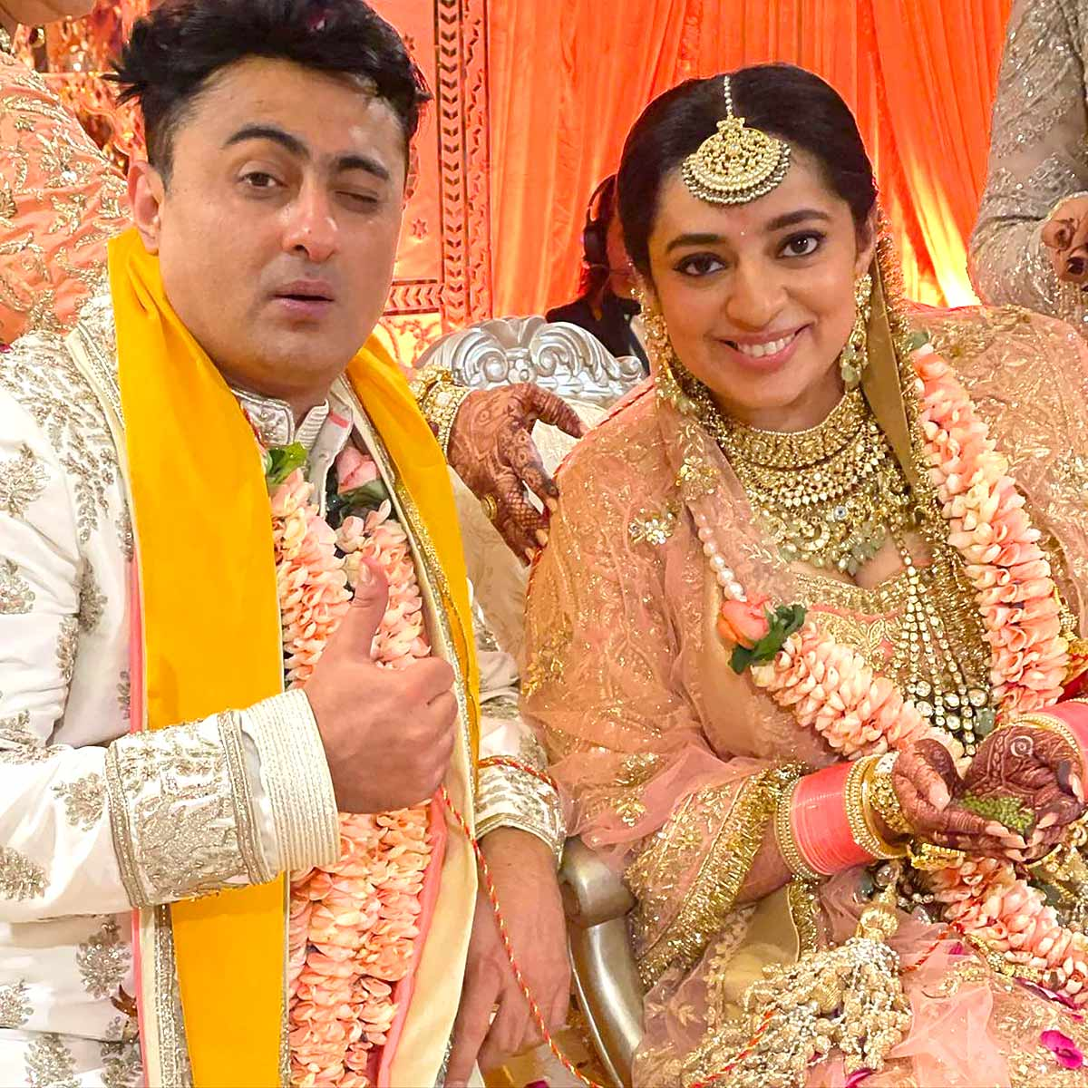 When Bindiya Goswami and J P Dutta's daughter got married... - Rediff.com movies