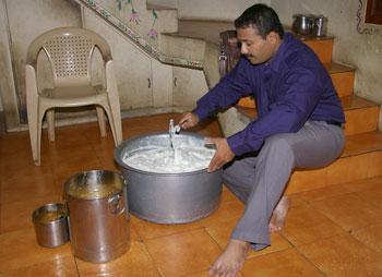 'I like doing this,' says Krishnan about feeding the mentally ill