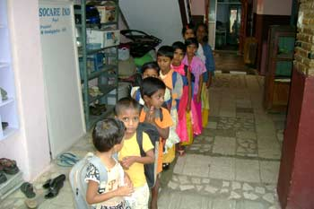 There are 136 children at Socare