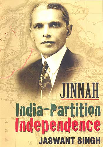 The cover of Jaswant Singh's biography 'Jinnah: India-Partition-Independence.'