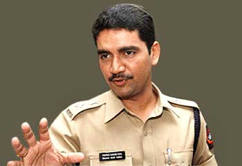 Deputy Commissioner of Police Vishwas Nagre Patil