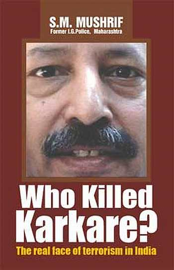 The cover of Who Killed Karkare