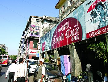 The Leopold Cafe and Bar in Colaba.