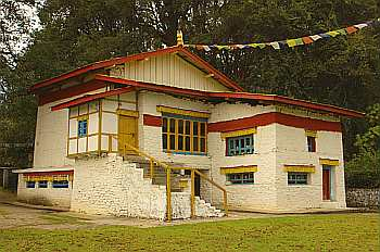 The birthplace of the 6th Dalai Lama in Tawang