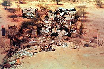 This is the picture of ground zero where the thermo-nuclear device was detonated in May 1998 in Pokharan. No crater was found at all! This picture tells the story that we have to do more homework. Indeed, we have to do more honest homework, said K Santhanam, former Defence Research and Development Organisation scientist dramatically holding the picture in his hand in the press conference held in New Delhi.