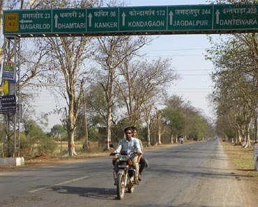 National Highway 43 connects Bastar to Raipur. Image for representational purposes.