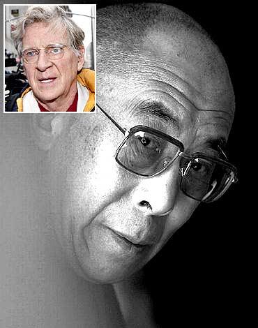 Uma Thurman's dad and the Dalai Lama