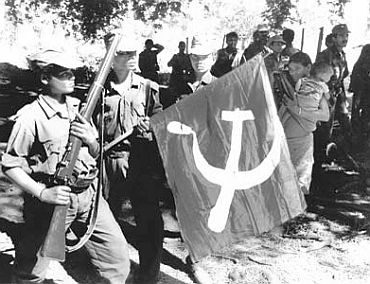 A file photograph of Naxalites