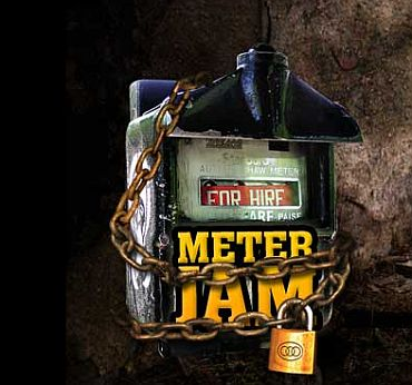 It's Meter Jam day. Say NO to cabs, autos today