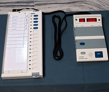 No way to check if EVMs are authentic