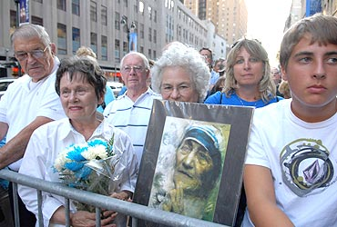 NYC celebrates Mother Teresa