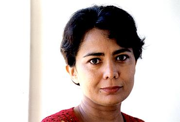 Author Madhusree Mukerjee