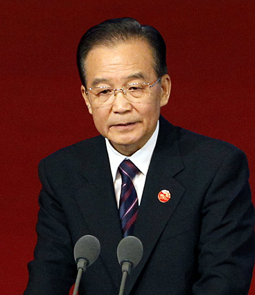 Chinese Premier Wen Jiabao has used Beijing's economic clout to bully other countries