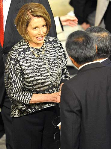 Speaker of the US House of Representatives Nancy Pelosi