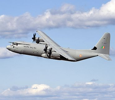 IAF inducts six C-130 J Super Hercules