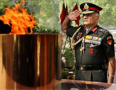 Army chief General V K Singh