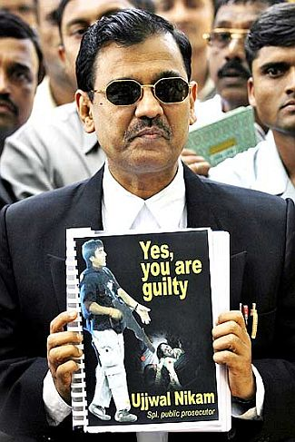 Government counsel Ujjwal Nikam