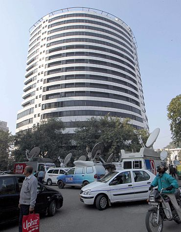 Radia's office -- Vaishnavi Corporate Communications -- was among the first few places raided by the CBI
