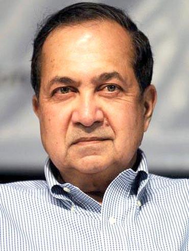 Senior journalist N Ram