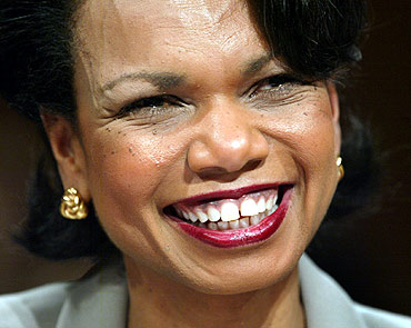 Former US Secretary of State Dr Condoleezza Rice