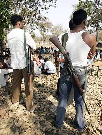 'The government is firm on taming the Naxals'