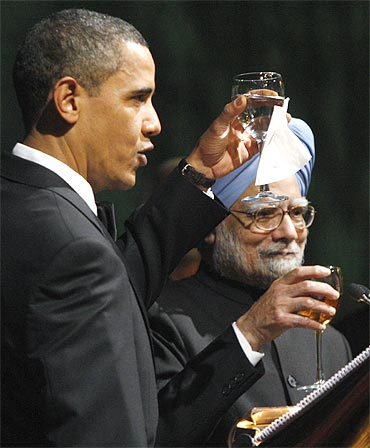 Manmohan Singh is someone whose opinion Barack Obama respects tremendously