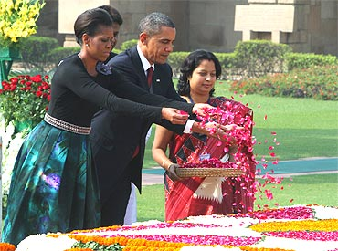 Obama pays tribute to his Indian hero