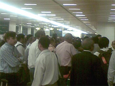 Chaos, confusion at Delhi airport's swanky T3