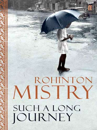 Rohinton Mistry's book Such A Long Journey was withdrawn by the Bombay University