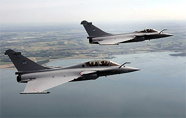 Rafale figher jets