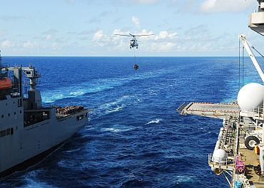 Indian forces train with US in East China sea