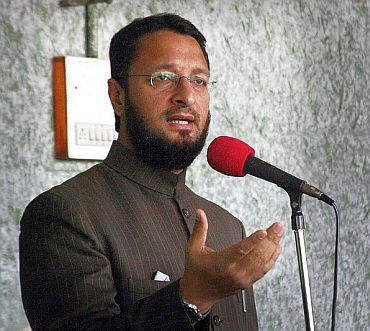 Member of Lok Sabha from Hyderabad Asaduddin Owaisi