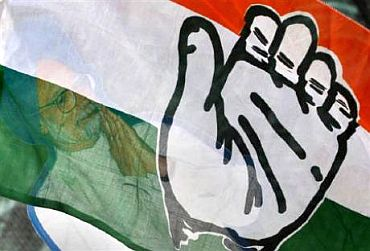 The symbol of the Indian National Congress