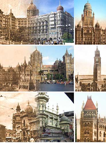 100 years on, Mumbai then and now
