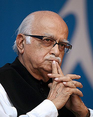 L K Advani, architect of the BJP's Ram Janambhoomi movement